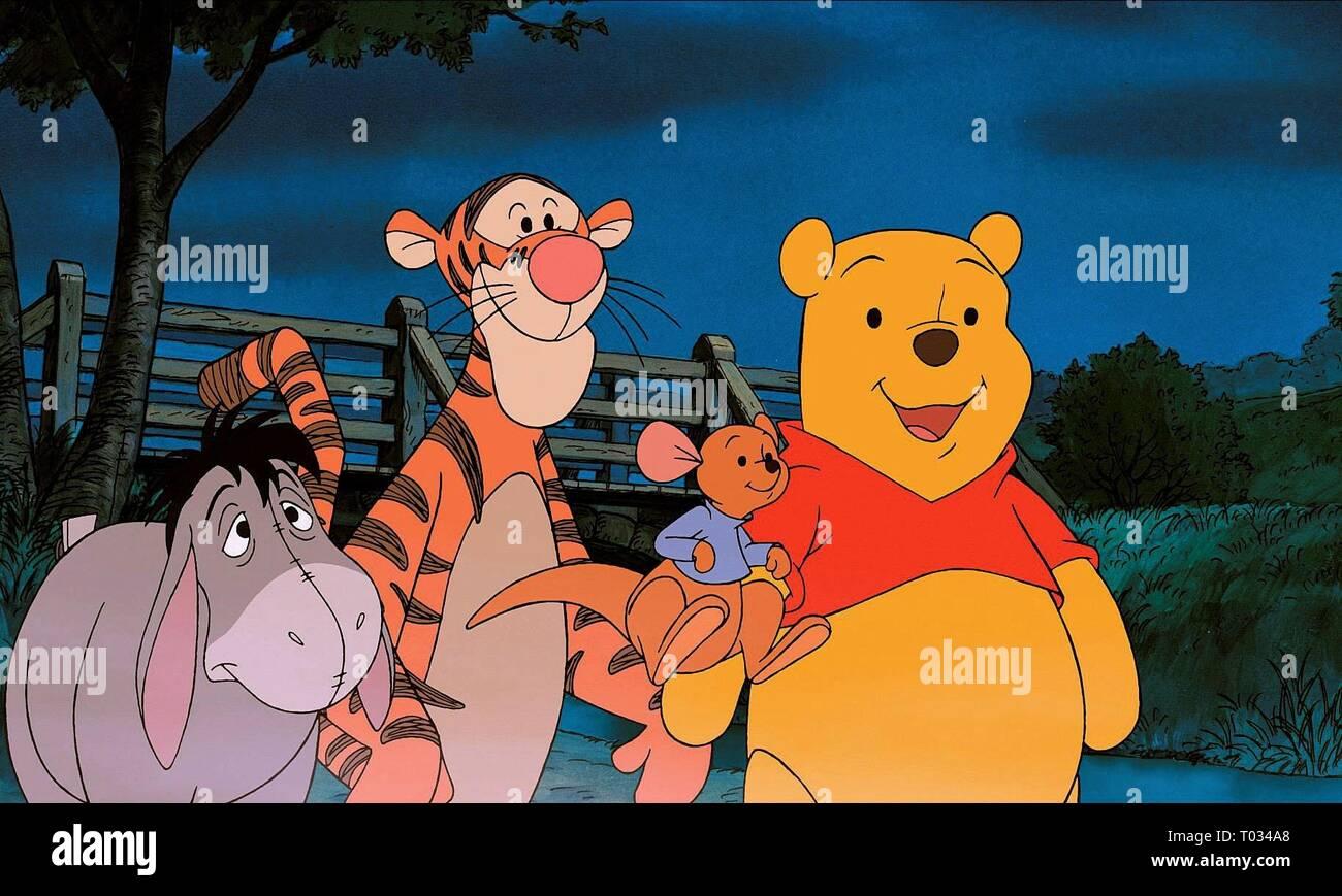 PIGLET'S BIG MOVIE, EEYORE, TIGGER, ROO , WINNE THE POOH, 2003 - Stock Image