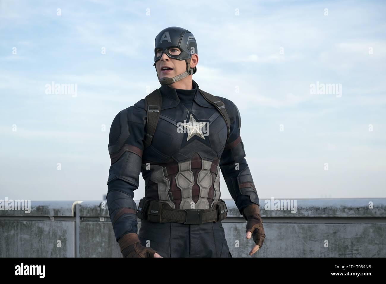 Captain America Civil War Chris Evans Stock Photos Captain