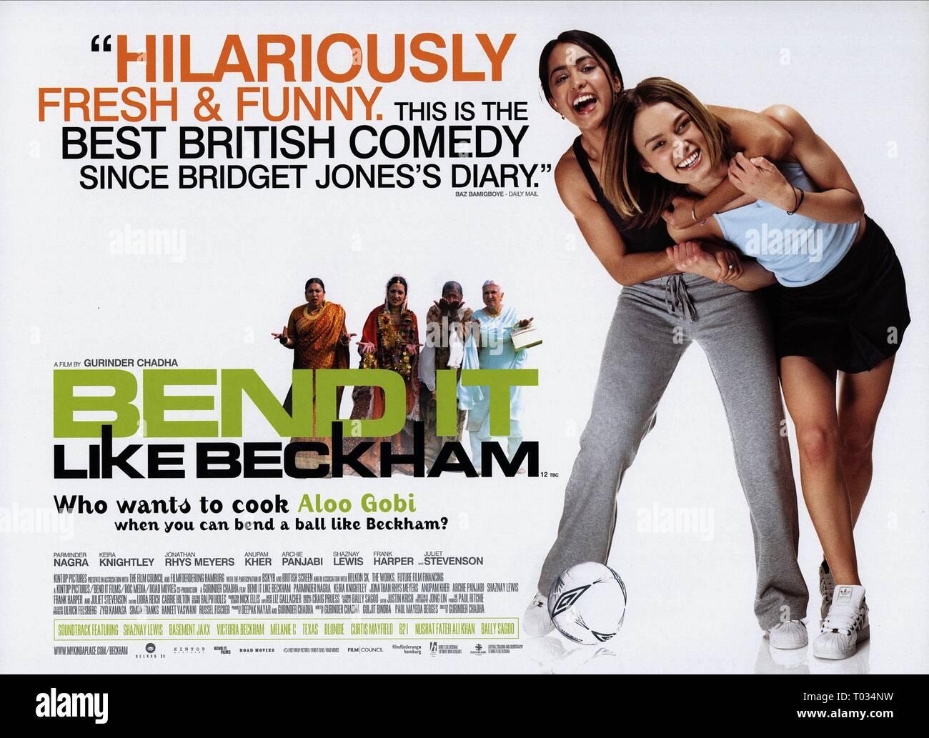 Bend It Like Beckham Stock Photos & Bend It Like Beckham Stock