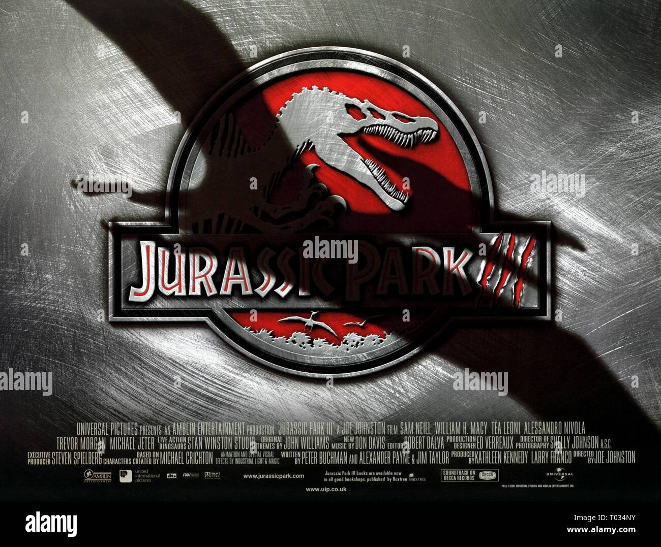 FILM POSTER, JURASSIC PARK III, 2001 Stock Photo: 241014759