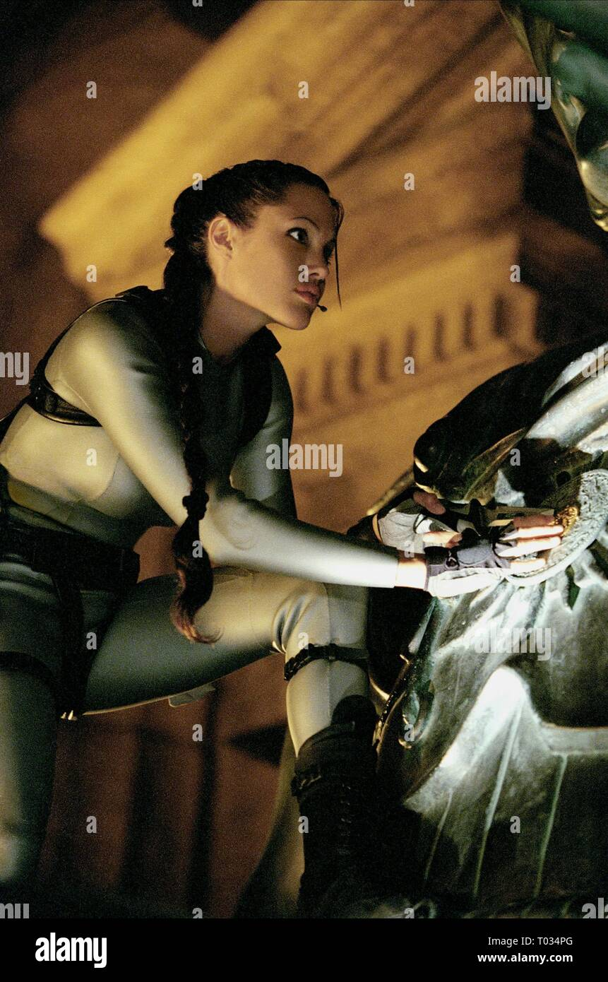 Angelina Jolie Lara Croft Stock Photos Angelina Jolie Lara