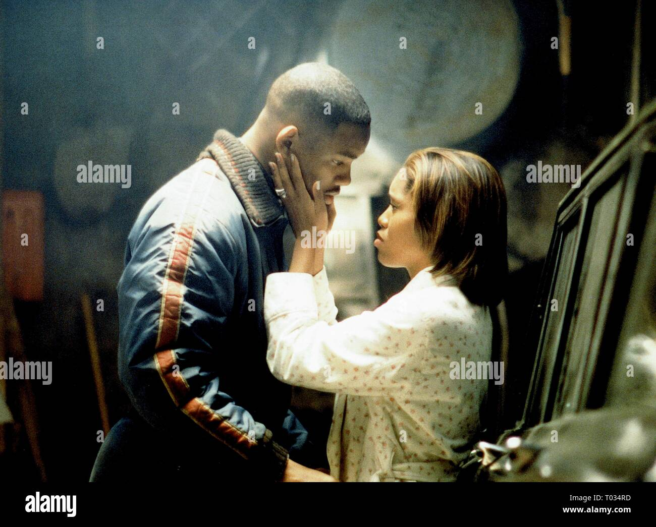 Will Smith Regina King Enemy Of The State 1998 Stock Photo Alamy
