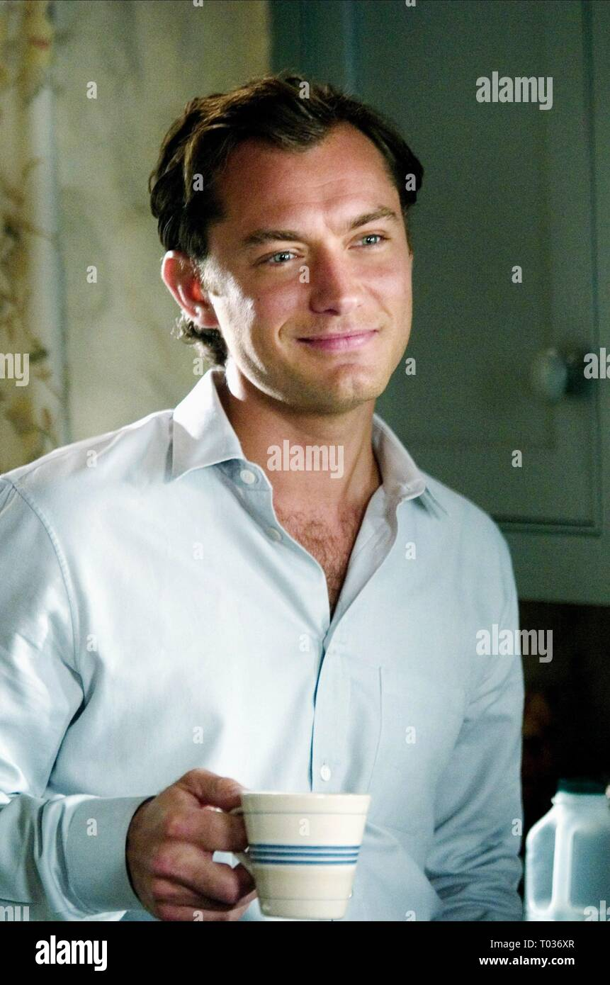 Jude Law The Holiday 2006 Stock Photo Alamy