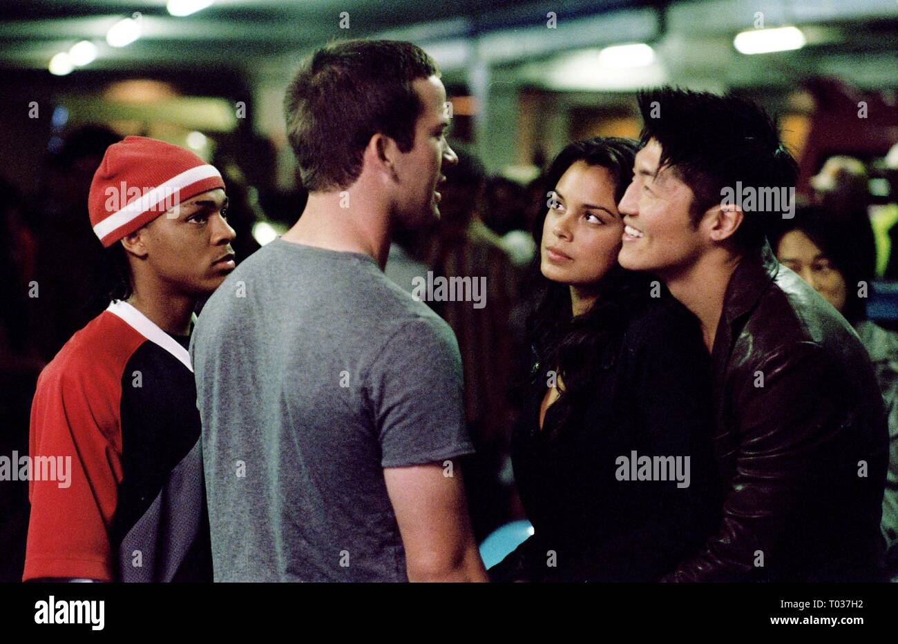 BOW WOW, LUCAS BLACK, NATHALIE KELLEY, BRIAN TEE, THE FAST AND THE FURIOUS: TOKYO DRIFT, 2006 Stock Photo