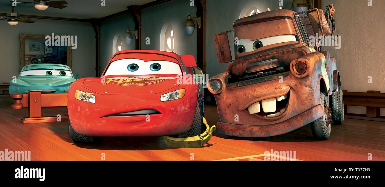 Tow Mater Cars Movie High Resolution Stock Photography And Images