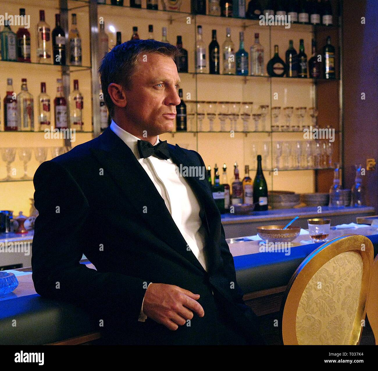 DANIEL CRAIG,  CASINO ROYALE, 2006 - Stock Image