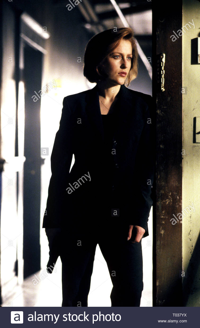 GILLIAN ANDERSON, THE X FILES, 1993 - Stock Image