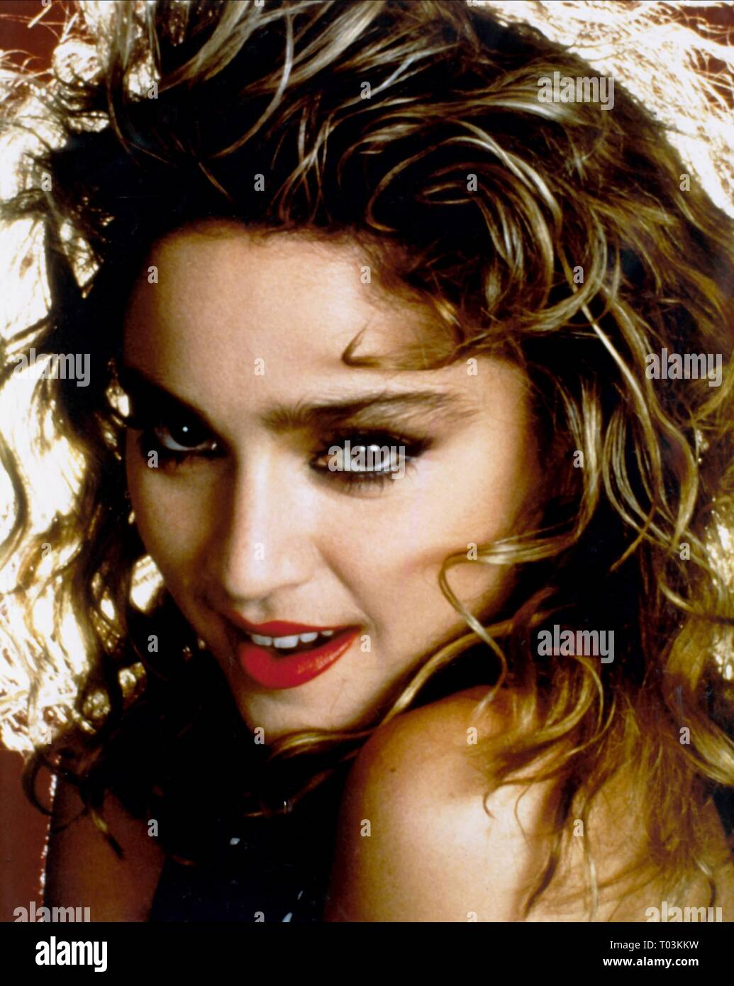 MADONNA, DESPERATELY SEEKING SUSAN, 1985 - Stock Image