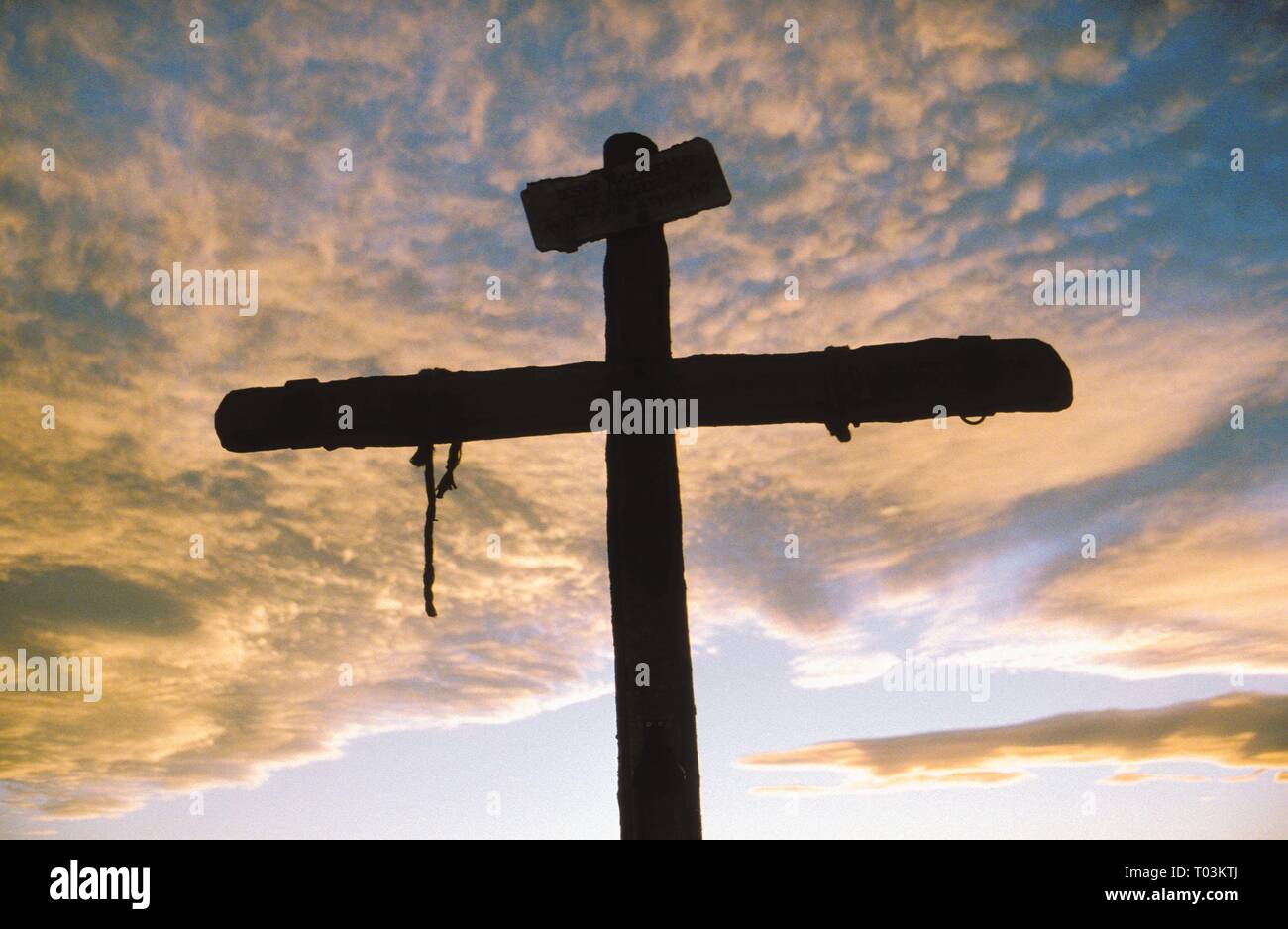 CRUCIFIX, THE PASSION OF THE CHRIST, 2004 - Stock Image