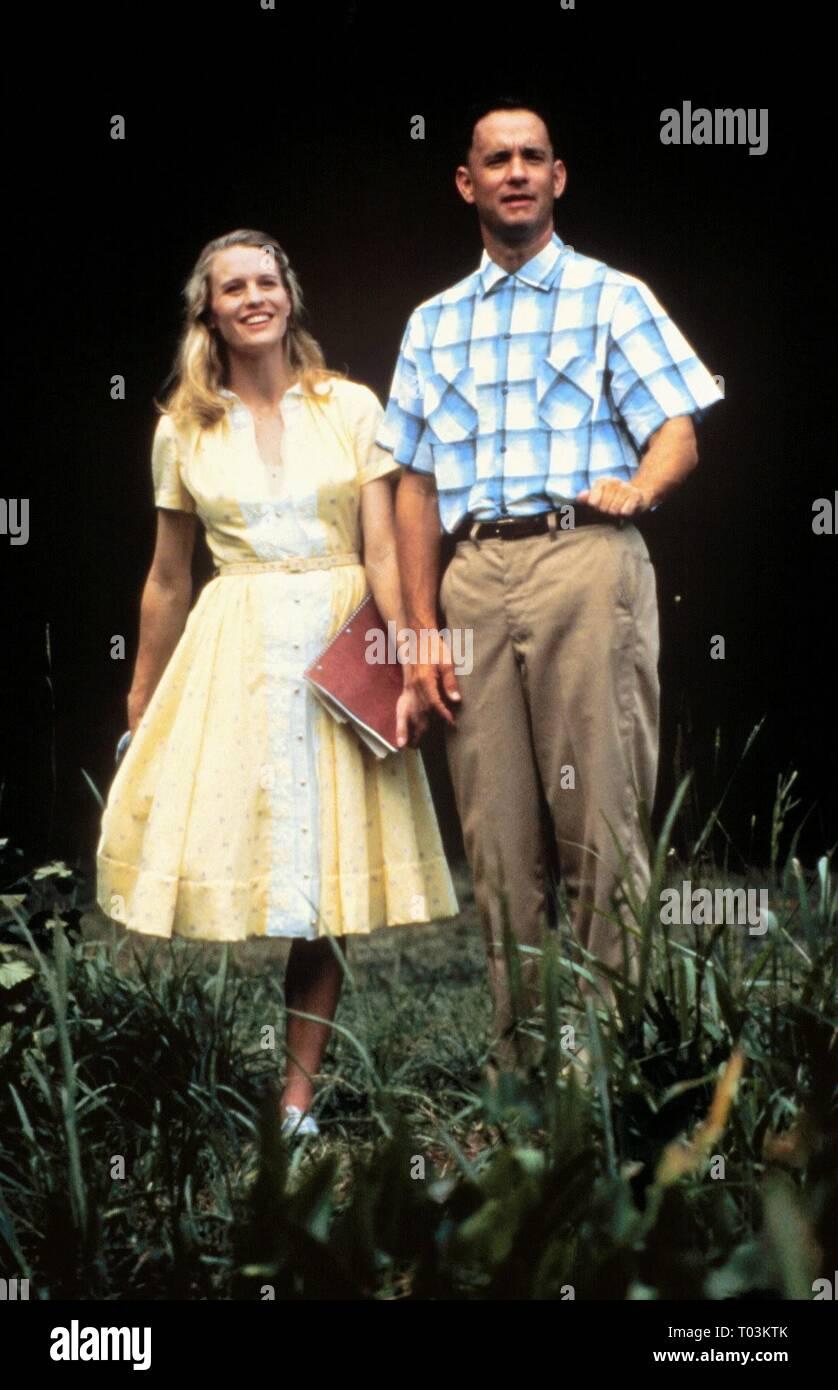 Robin Wright Tom Hanks Forrest Gump 1994 Stock Photo Alamy