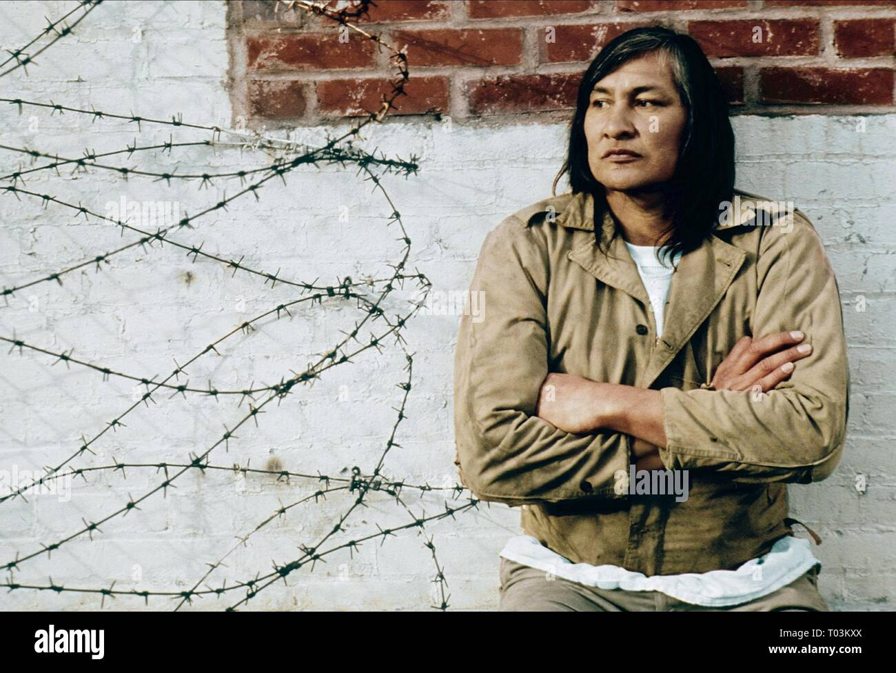 WILL SAMPSON, ONE FLEW OVER THE CUCKOO'S NEST, 1975 - Stock Image