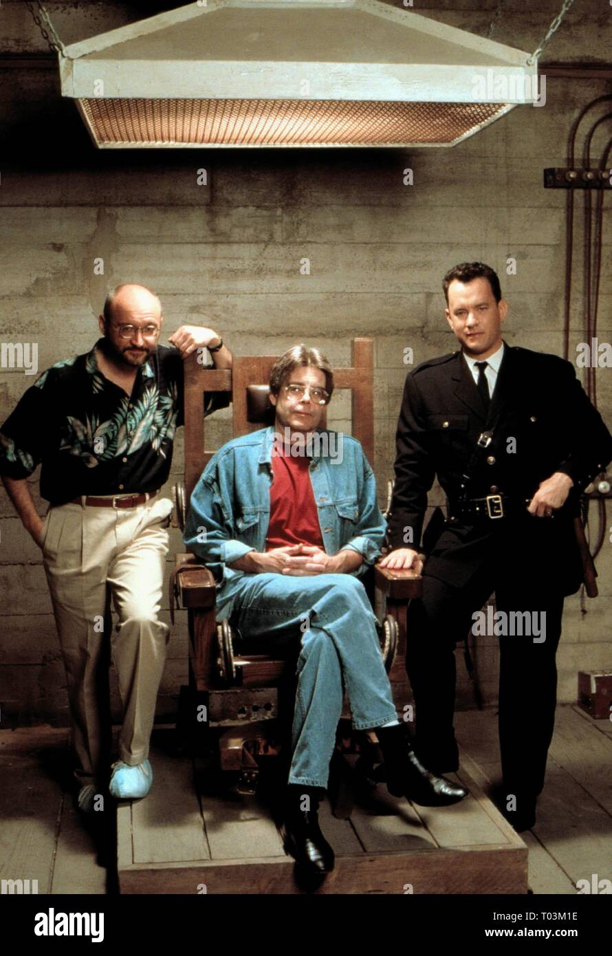 Frank Darabont Stephen King Tom Hanks The Green Mile 1999 Stock Photo Alamy