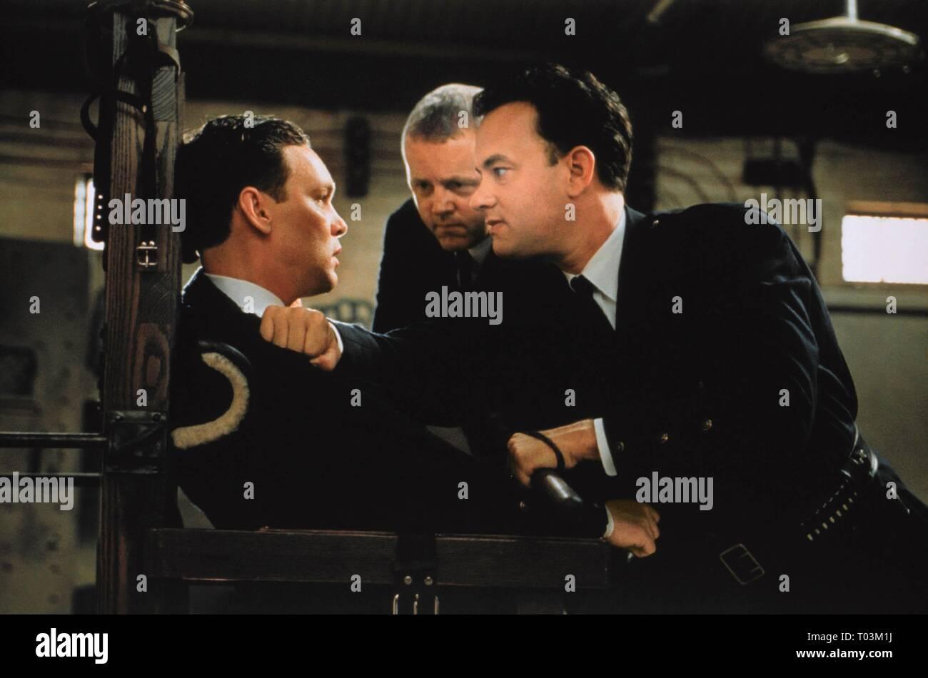 DOUG HUTCHISON, DAVID MORSE, TOM HANKS, THE GREEN MILE, 1999 - Stock Image