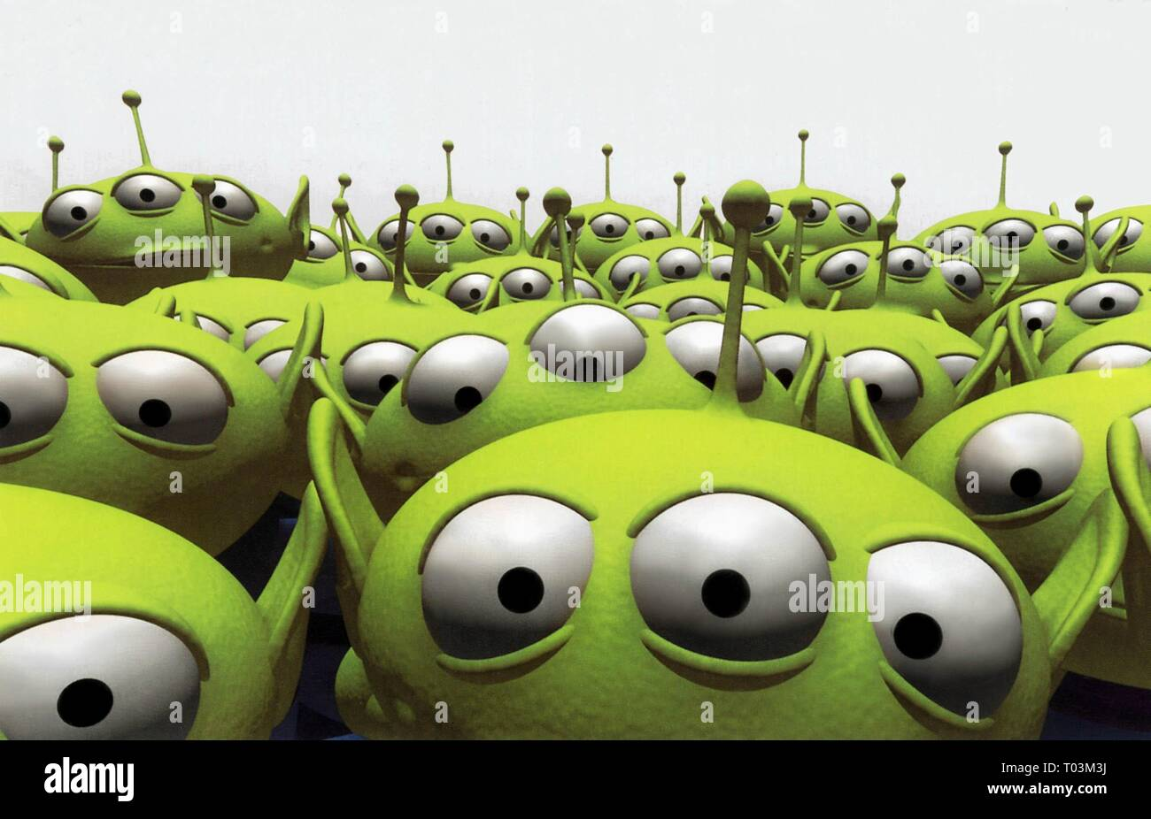 ALIENS, TOY STORY, 1995 - Stock Image