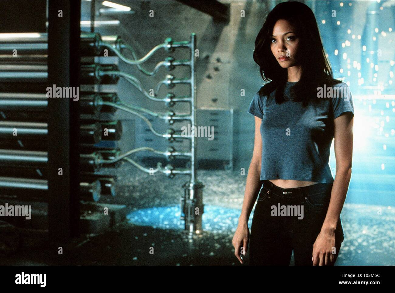 Thandie Newton Mission Impossible Ii 2000 Stock Photo Alamy