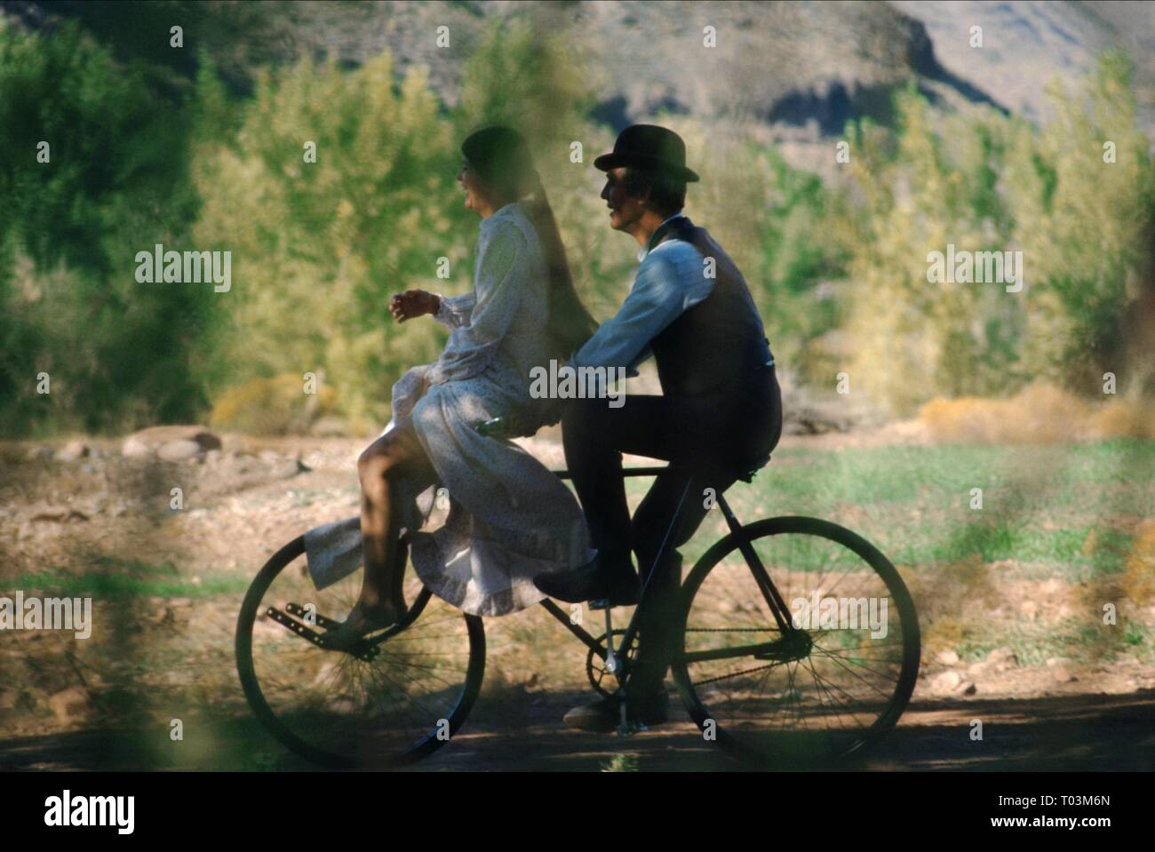 KATHARINE ROSS, PAUL NEWMAN, BUTCH CASSIDY AND THE SUNDANCE KID, 1969 Stock Photo