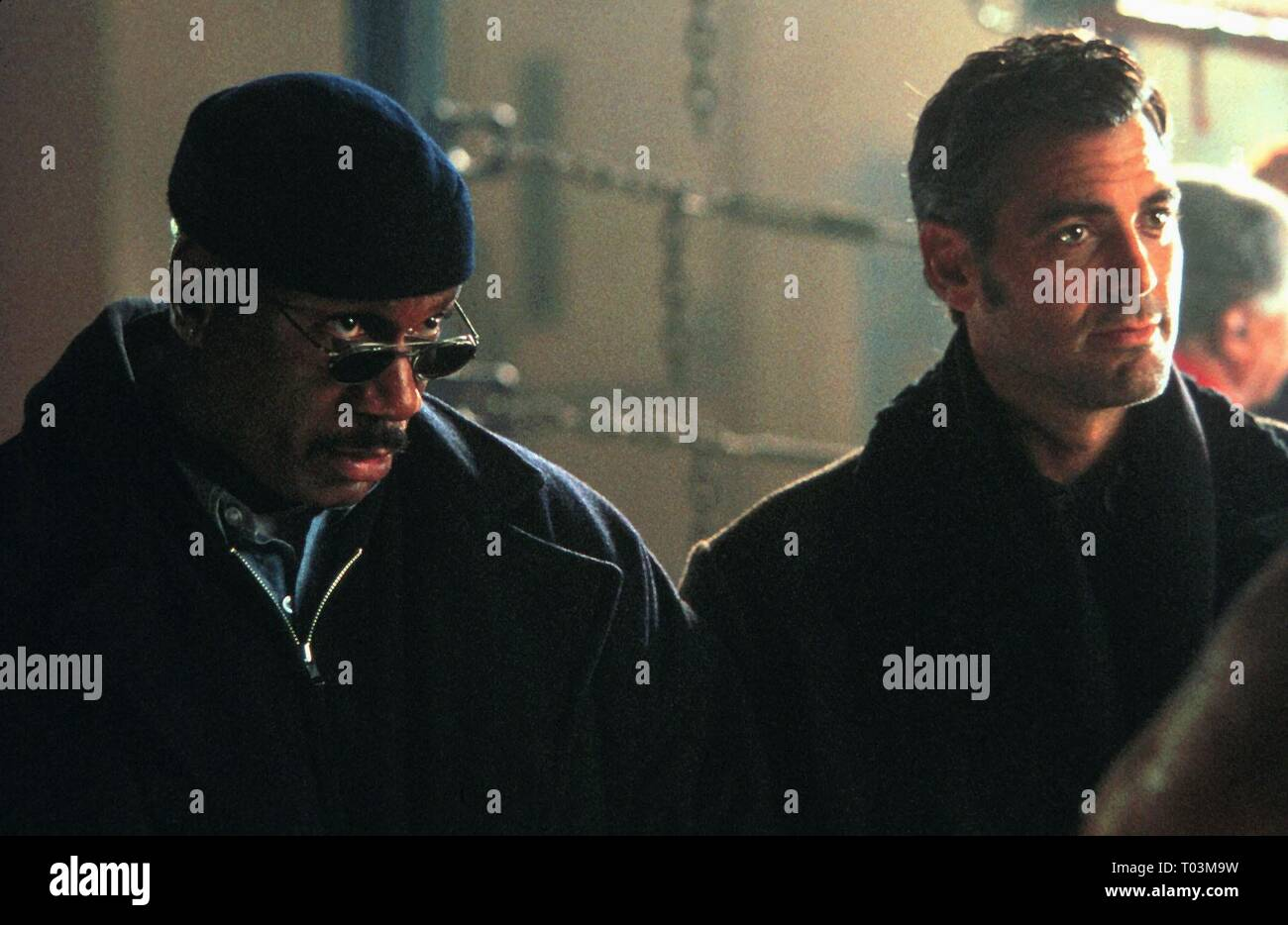 VING RHAMES, GEORGE CLOONEY, OUT OF SIGHT, 1998 Stock Photo