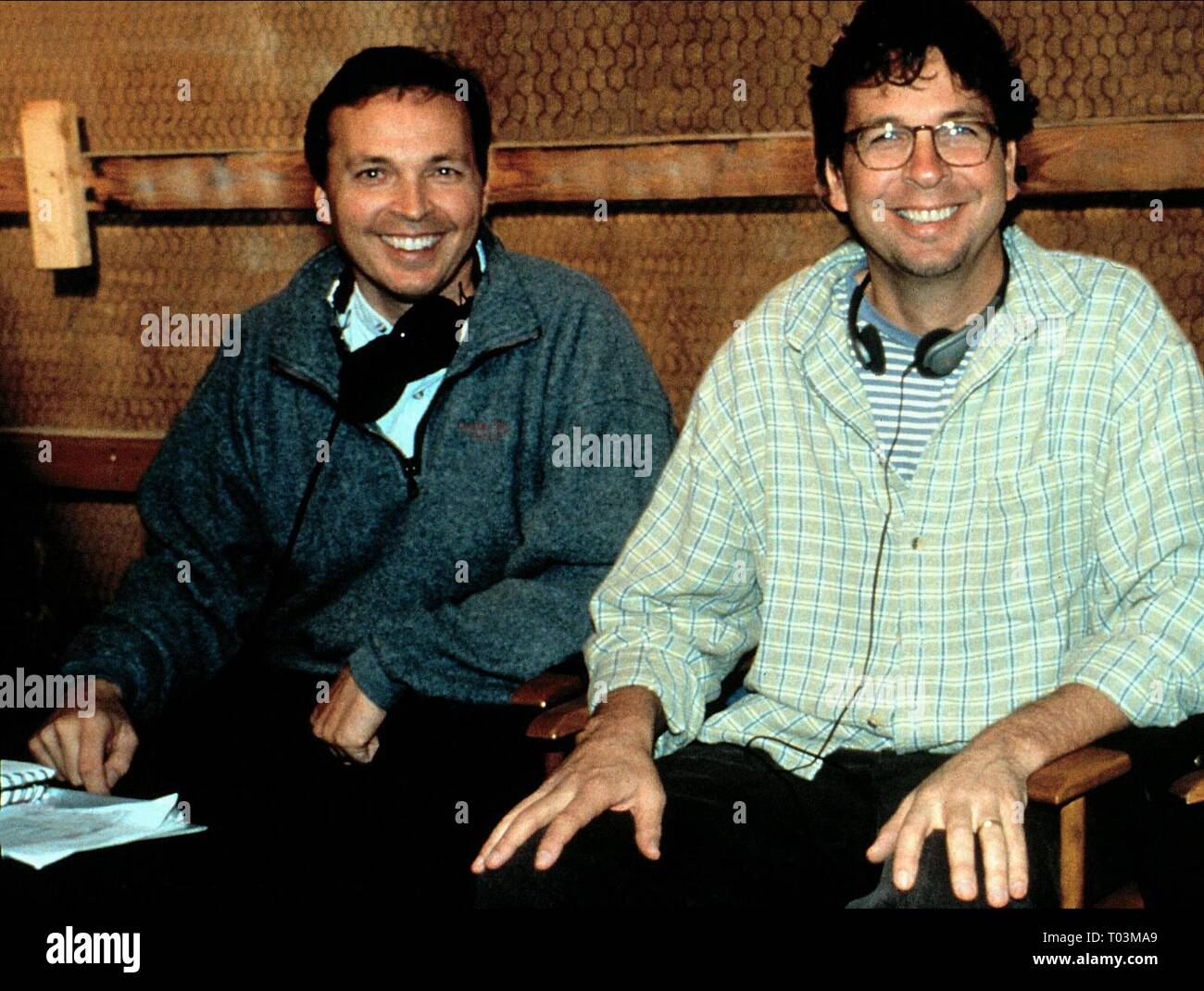 BOBBY FARRELLY, PETER FARRELLY, THERE'S SOMETHING ABOUT MARY, 1998 - Stock Image