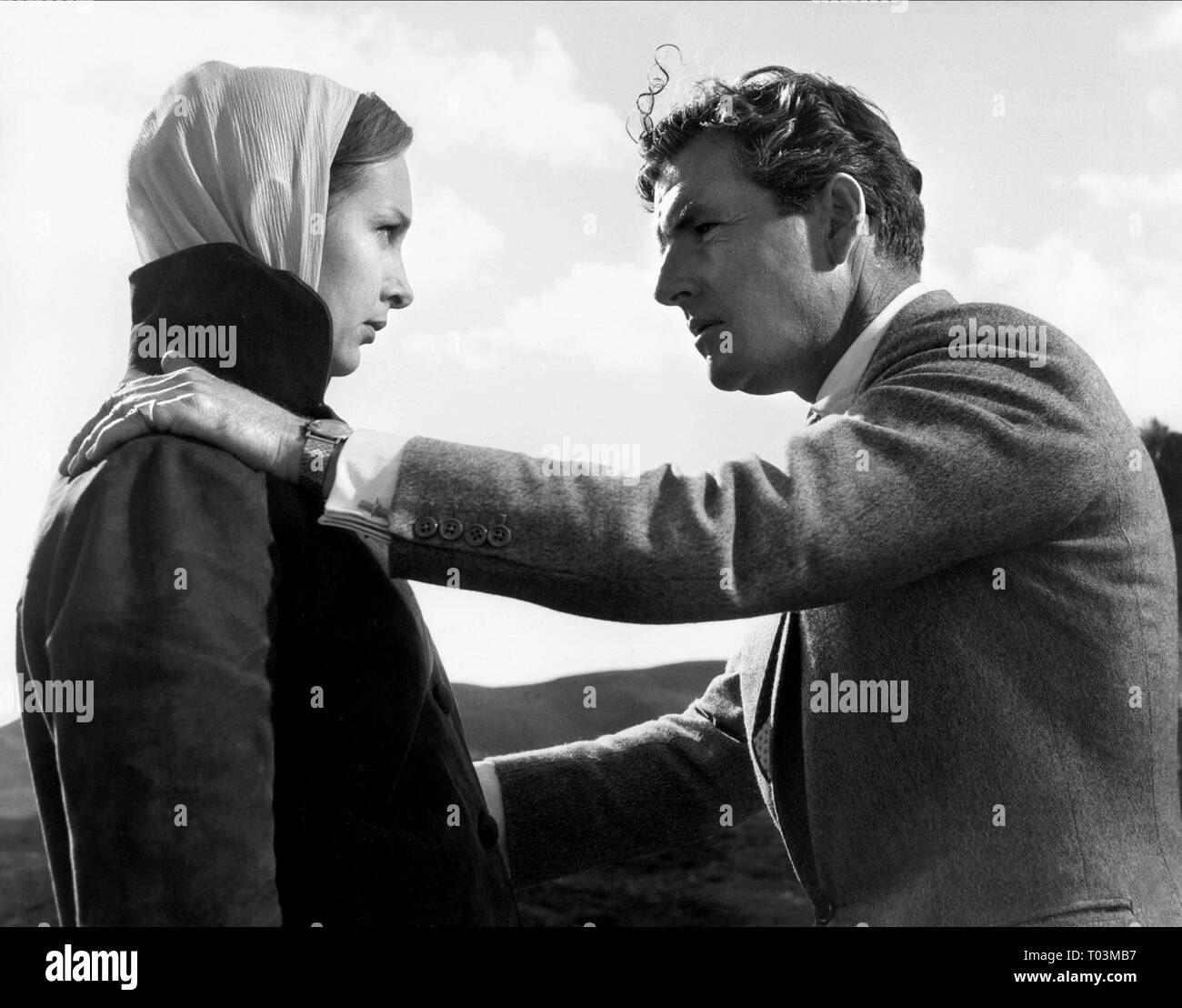 THE 39 STEPS, TAINA ELG , KENNETH MORE, 1959 - Stock Image