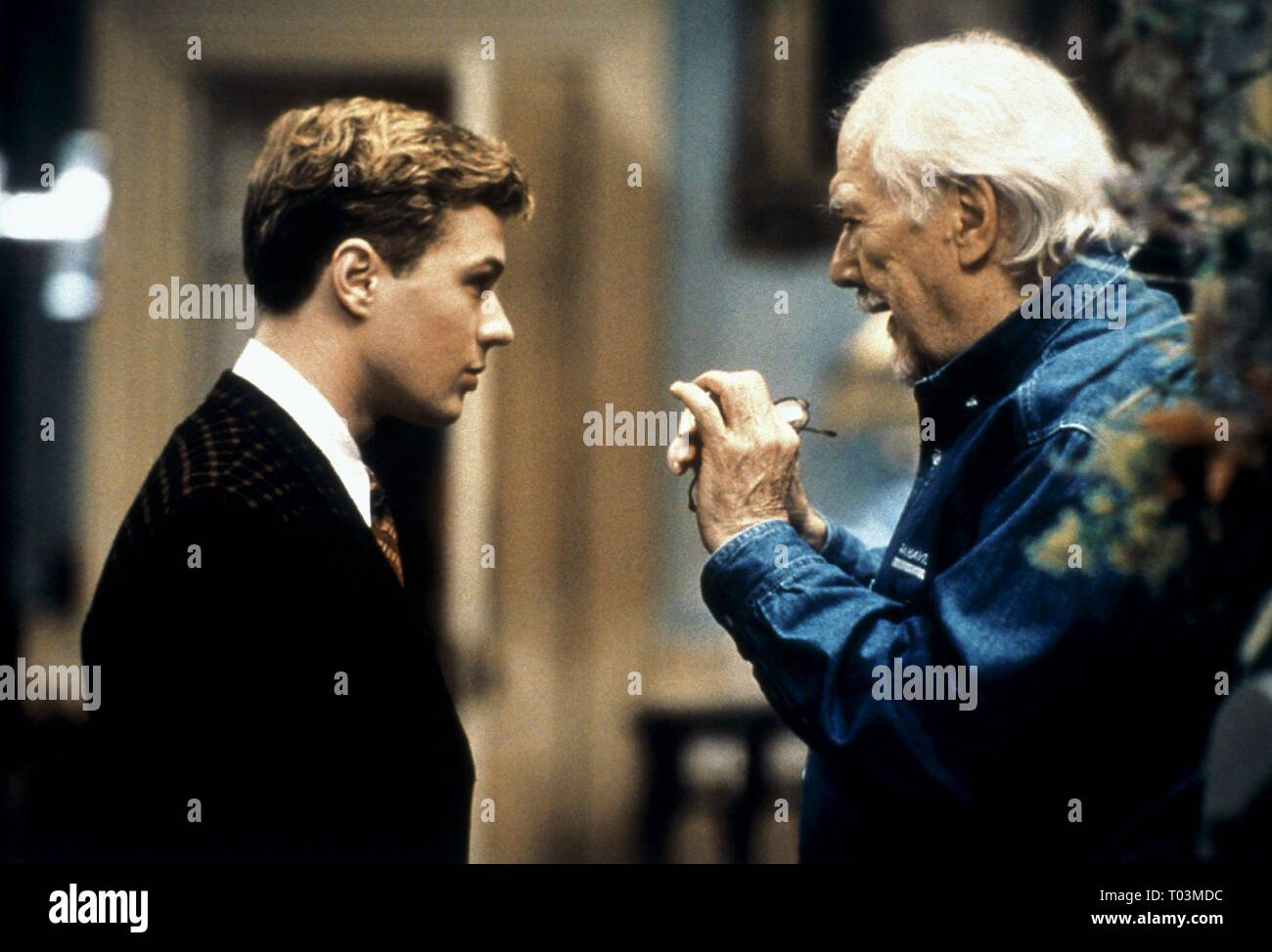 Ryan Phillippe Robert Altman Gosford Park 2001 Stock Photo Alamy