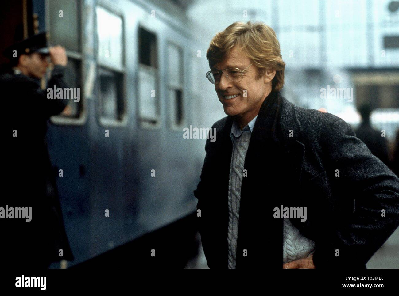 ROBERT REDFORD, SPY GAME, 2001 - Stock Image