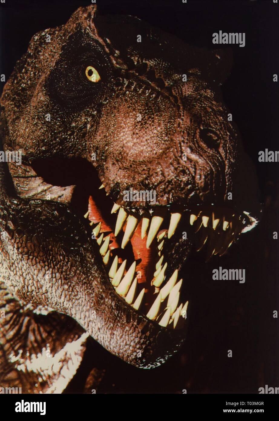 T-REX, JURASSIC PARK, 1993 - Stock Image