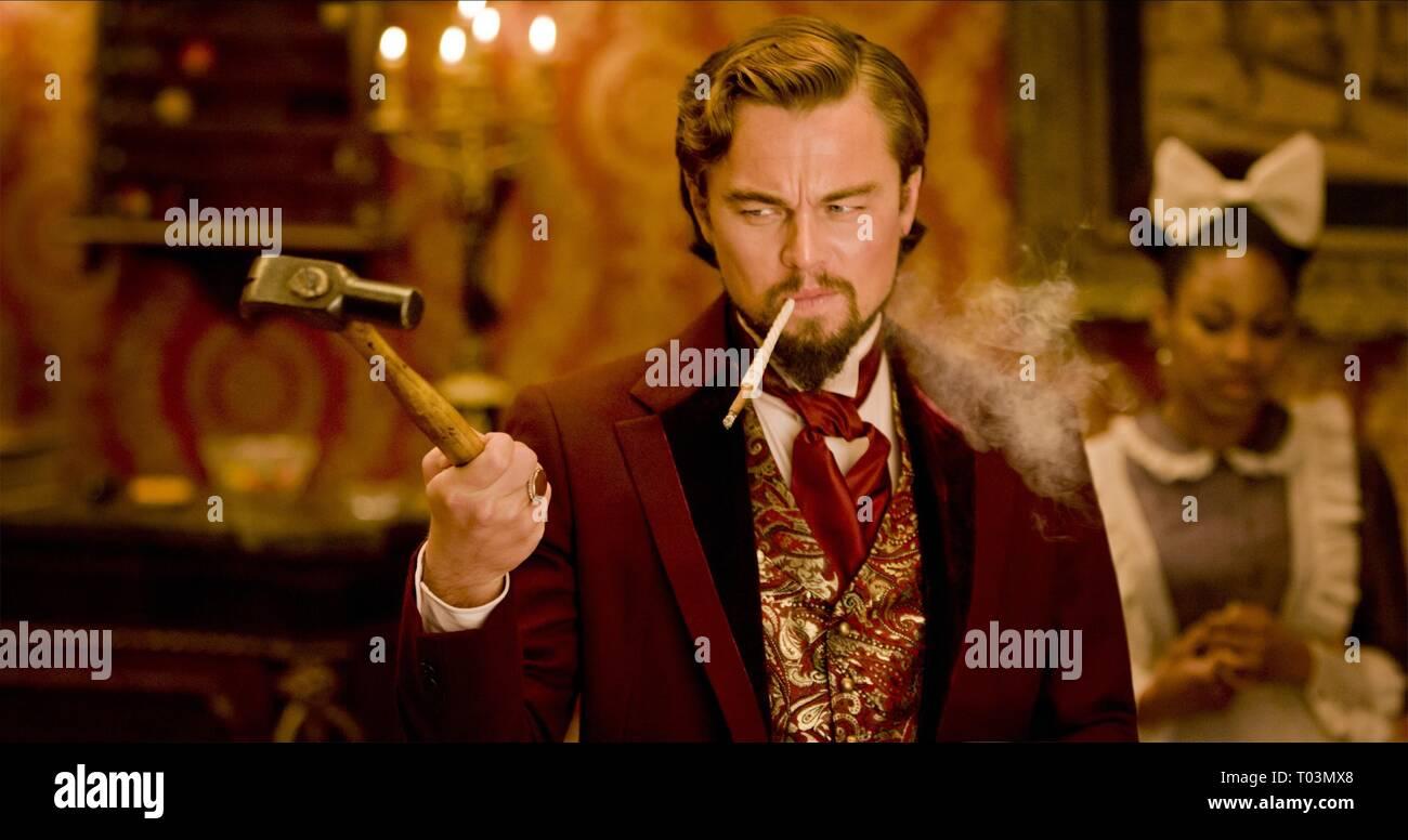 Leonardo Dicaprio Django Unchained 2012 Stock Photo Alamy