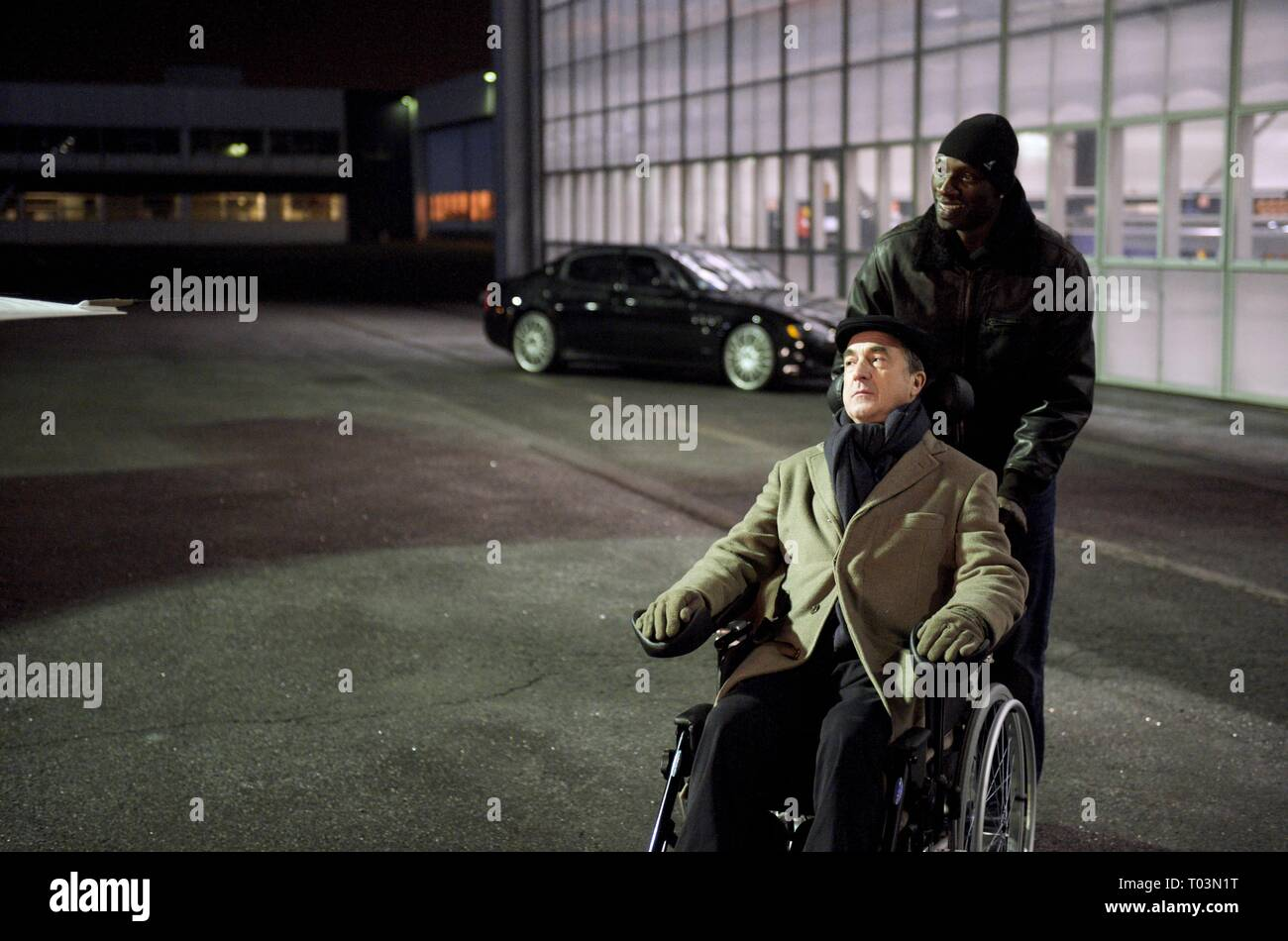 FRANCOIS CLUZET, OMAR SY, INTOUCHABLES, 2011 - Stock Image