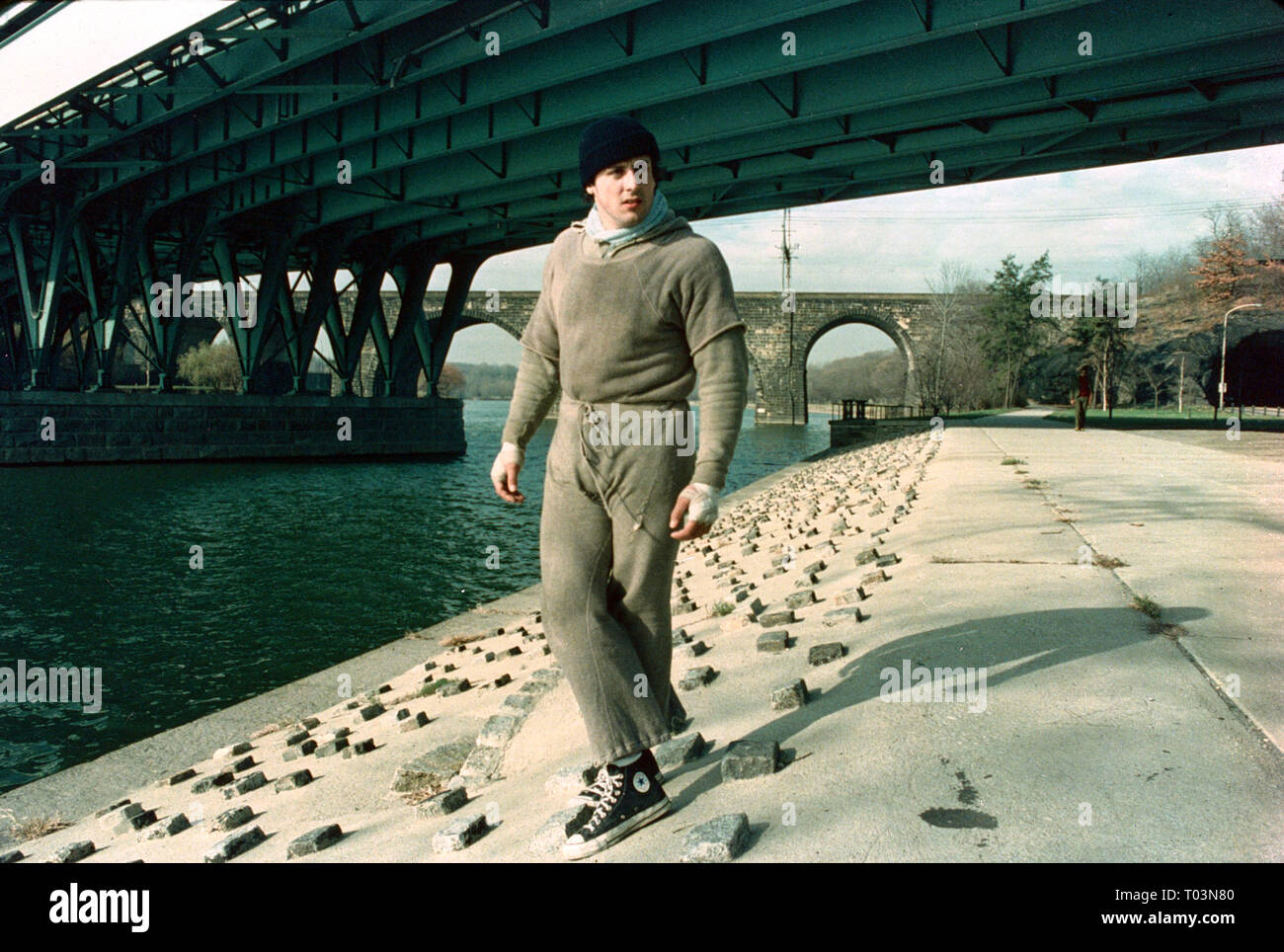 SYLVESTER STALLONE, ROCKY, 1976 - Stock Image