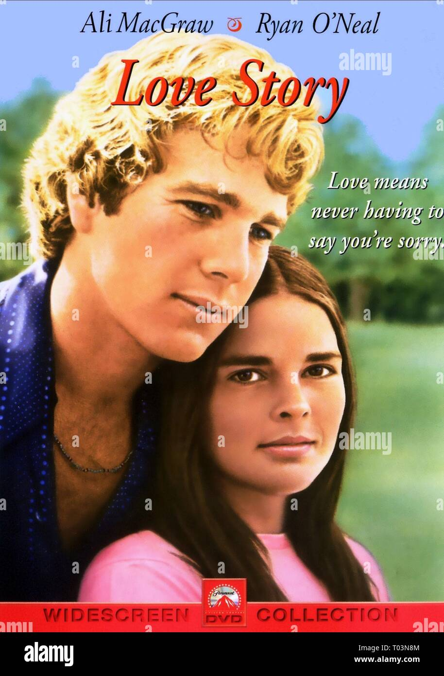MOVIE POSTER, LOVE STORY, 1970 - Stock Image