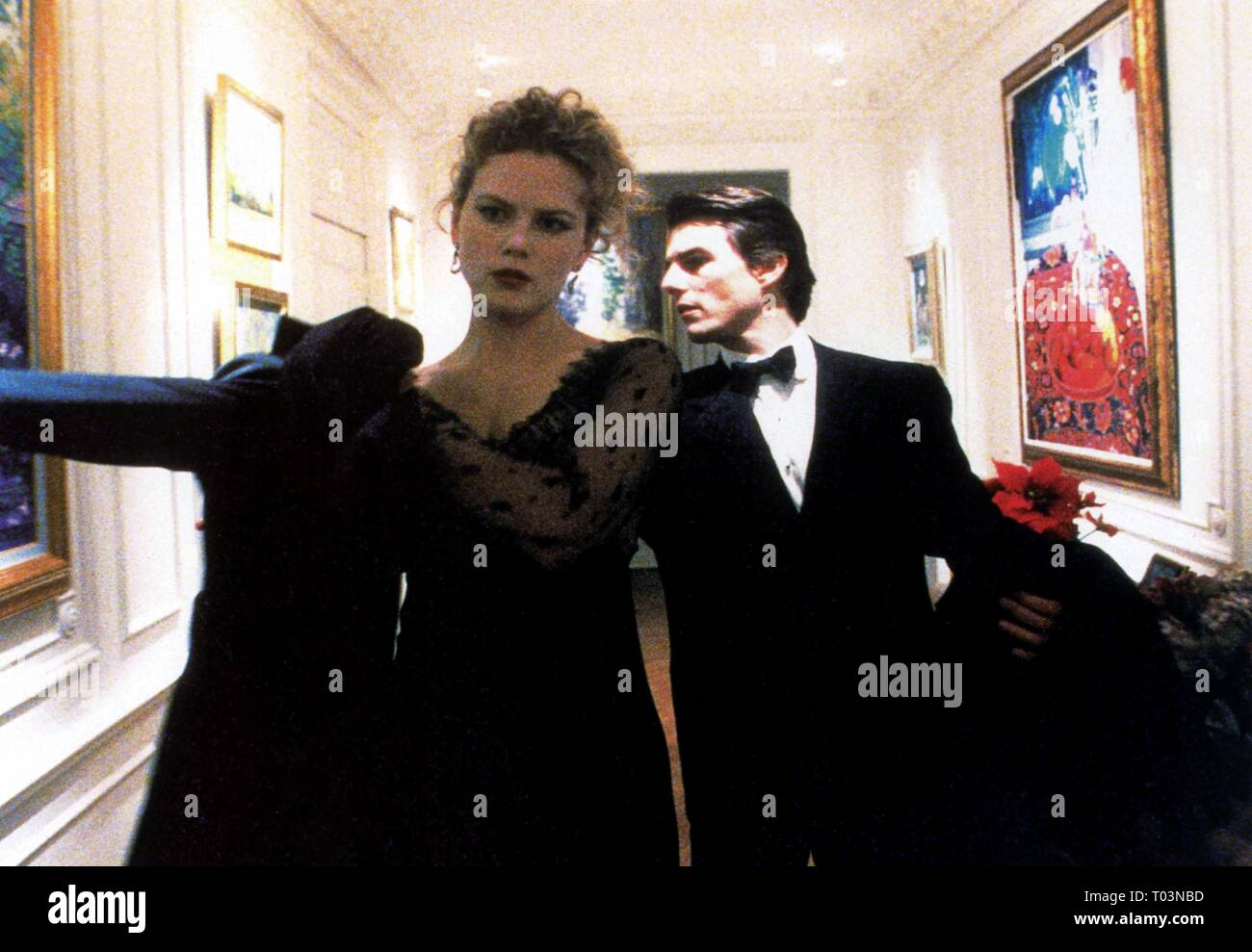 NICOLE KIDMAN, TOM CRUISE, EYES WIDE SHUT, 1999 - Stock Image