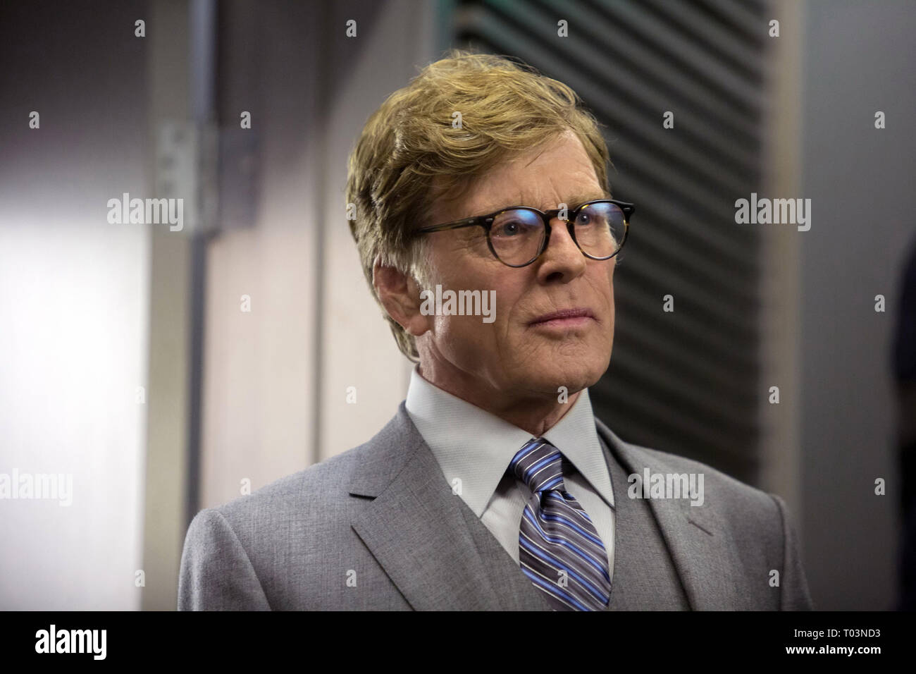 ROBERT REDFORD, CAPTAIN AMERICA: THE WINTER SOLDIER, 2014 - Stock Image
