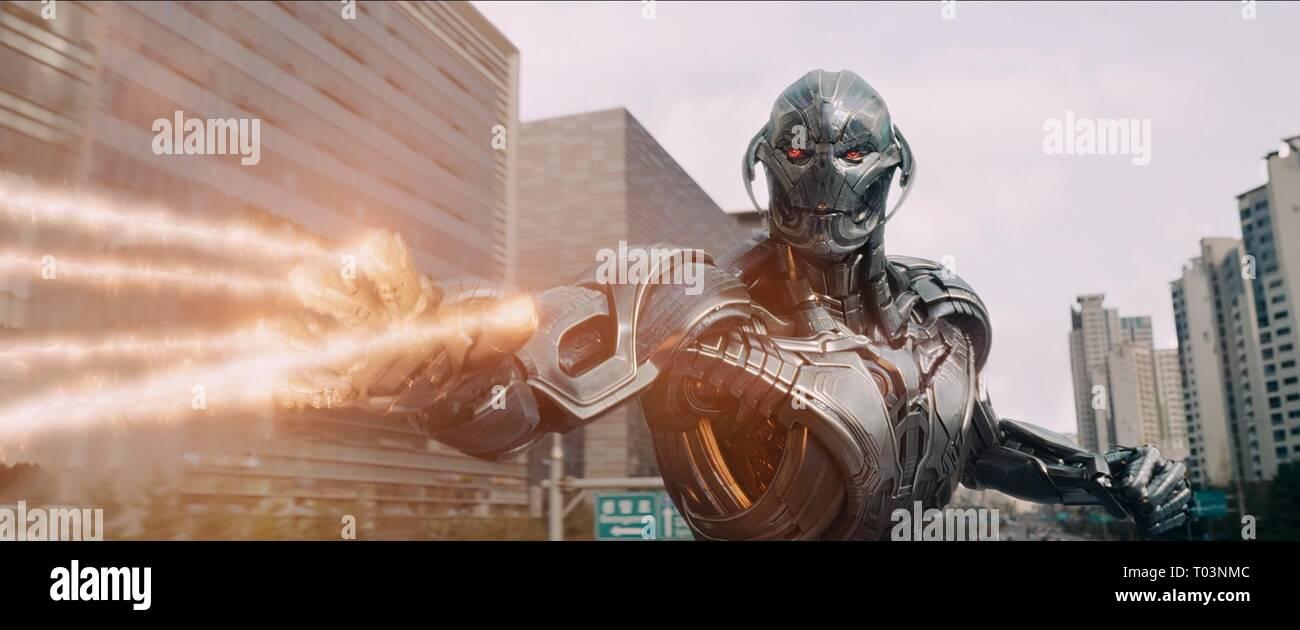 Ultron Avengers Age Of Ultron 2015 Stock Photo Alamy