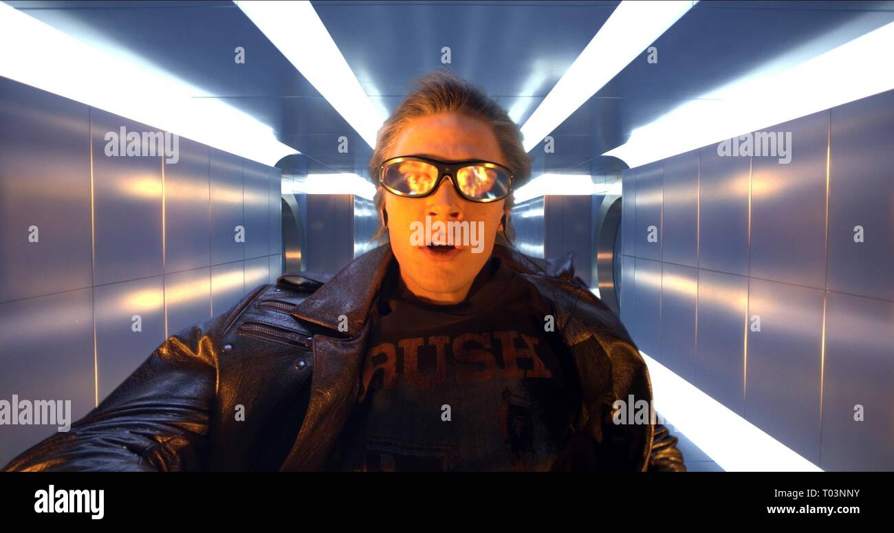 EVAN PETERS, X-MEN: APOCALYPSE, 2016 - Stock Image