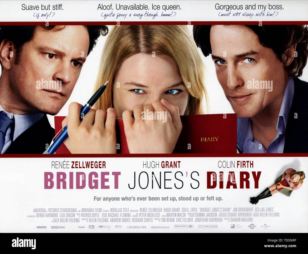 Bridget Jones Diary Movie Poster Film Photo Print Picture Renée Zellwegger