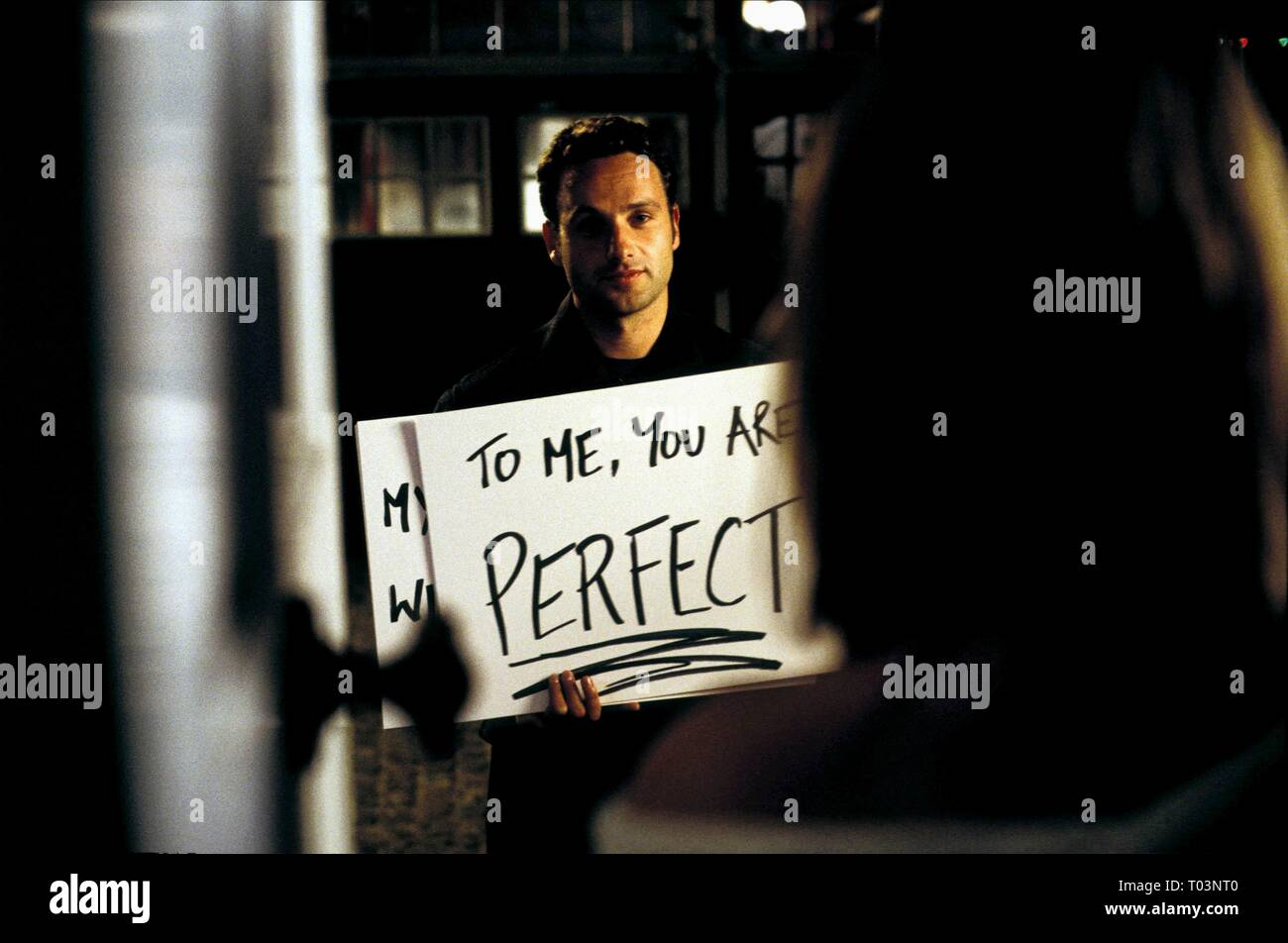 ANDREW LINCOLN, KEIRA KNIGHTLEY, LOVE ACTUALLY, 2003 - Stock Image