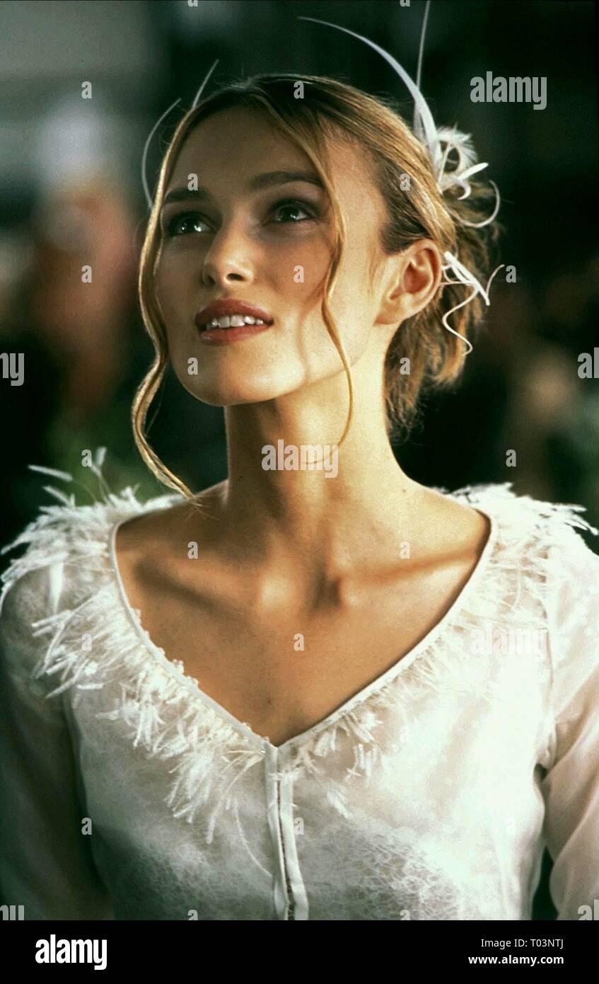 KEIRA KNIGHTLEY, LOVE ACTUALLY, 2003 - Stock Image