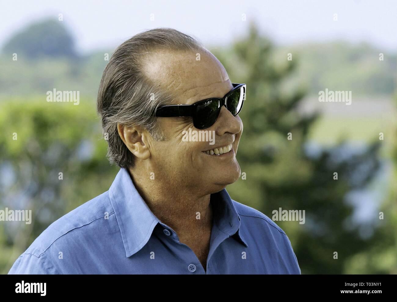 JACK NICHOLSON, SOMETHING'S GOTTA GIVE, 2003 - Stock Image