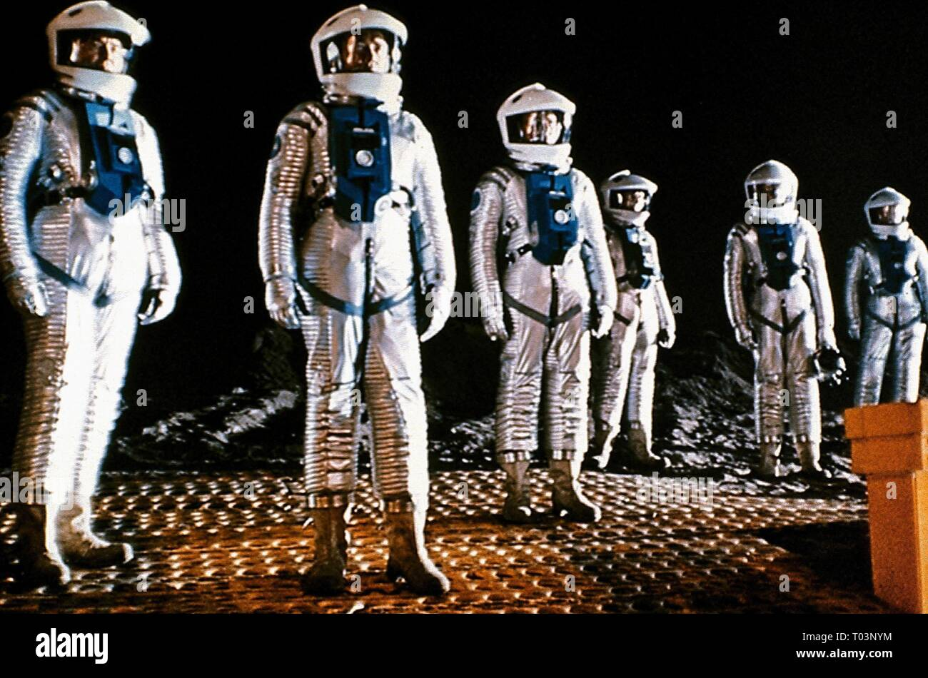 ASTRONAUTS, 2001: A SPACE ODYSSEY, 1968 - Stock Image