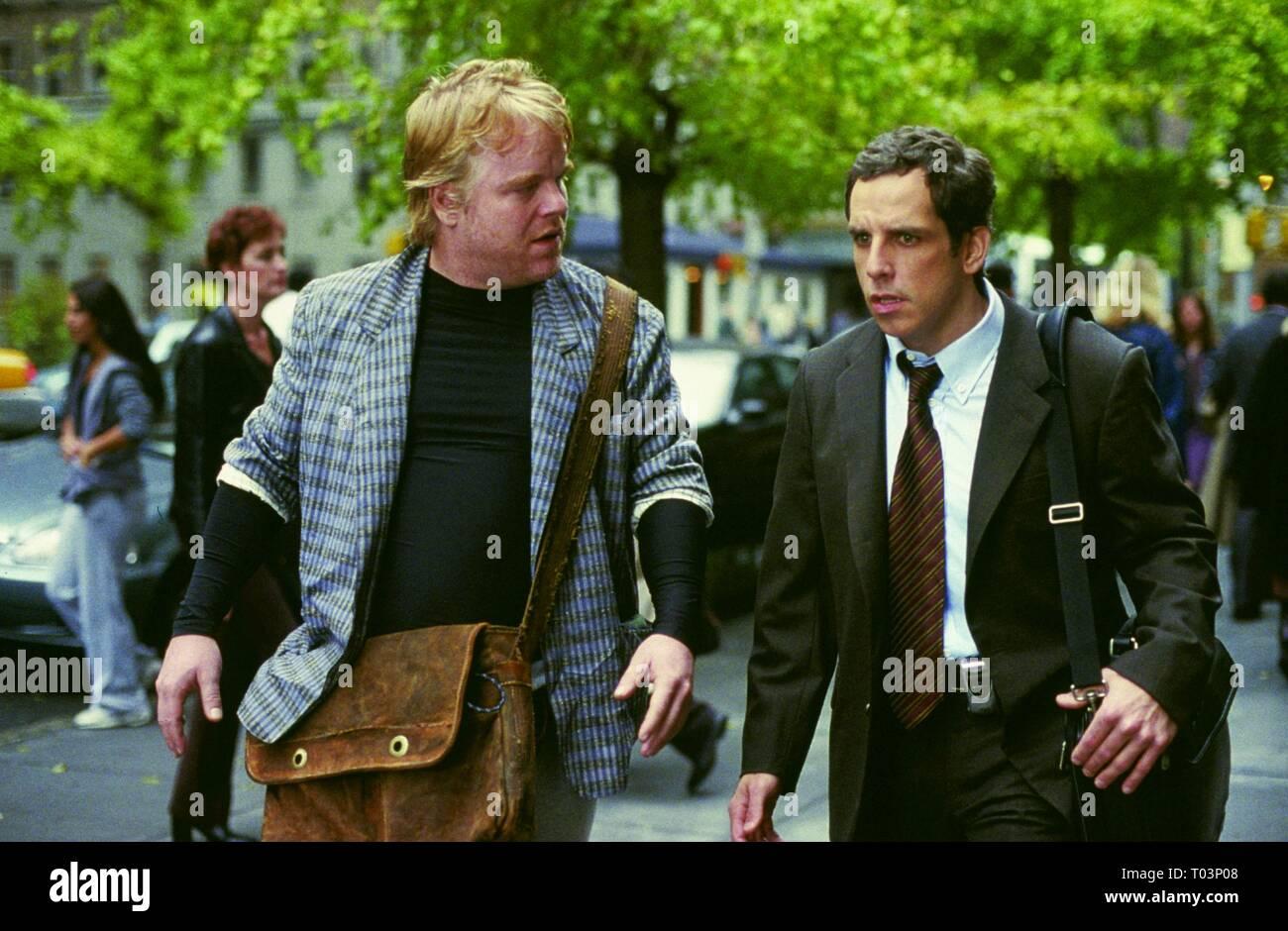 Philip Seymour Hoffman Ben Stiller Along Came Polly 2004 Stock Photo Alamy
