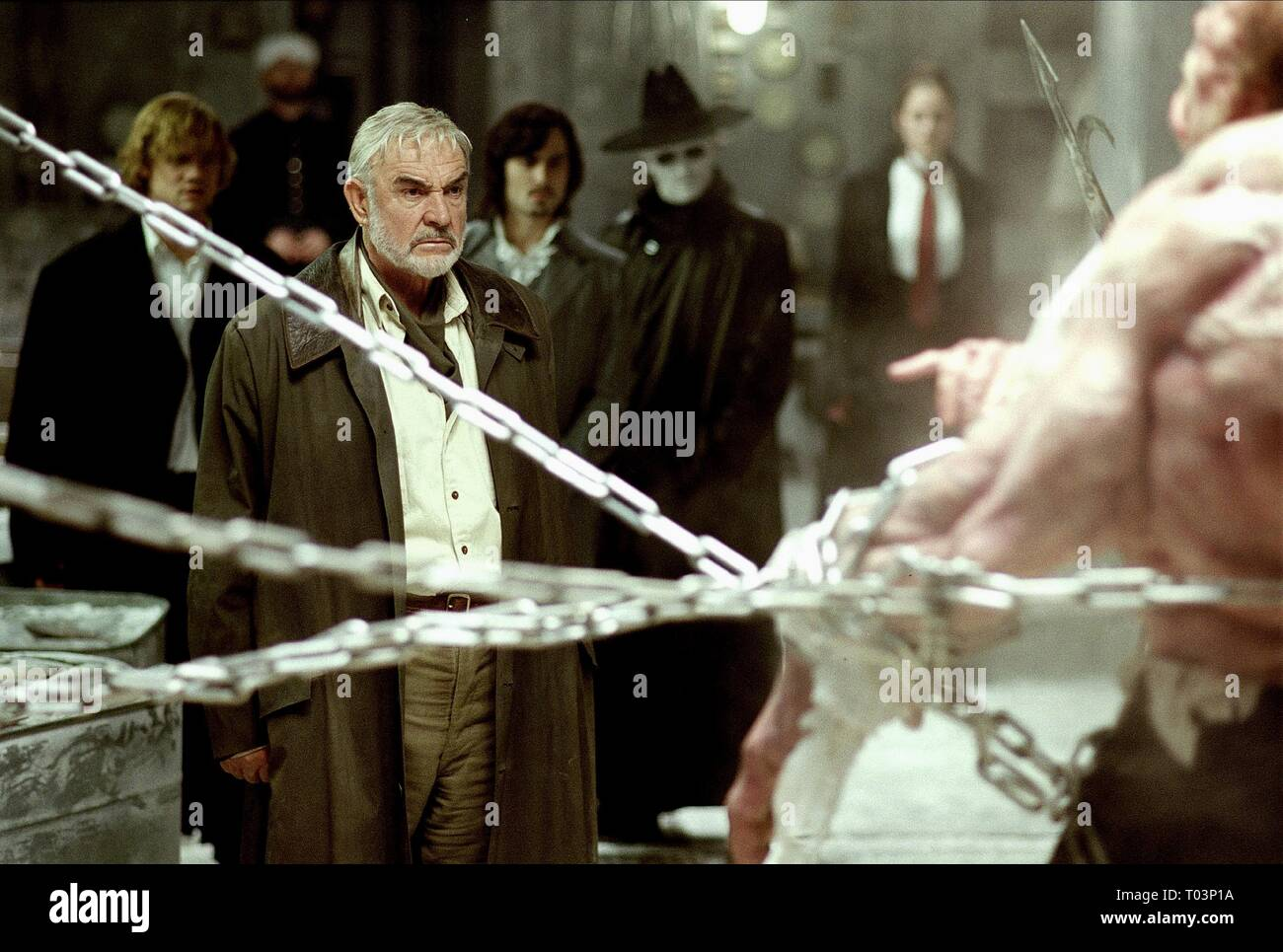 Sean Connery The League Of Extraordinary Gentlemen 2003 Stock Photo Alamy