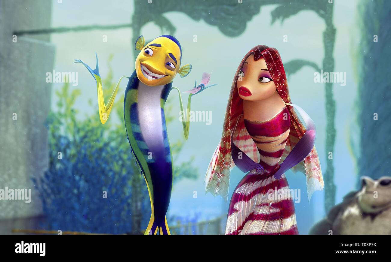 Oscar Lola Shark Tale 2004 Stock Photo Alamy