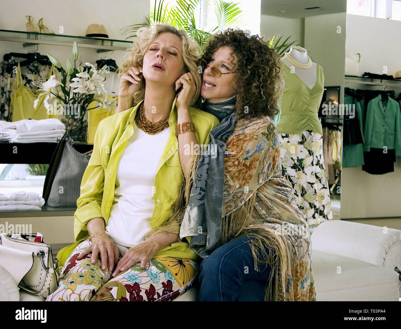 BLYTHE DANNER, BARBRA STREISAND, MEET THE FOCKERS, 2004 - Stock Image
