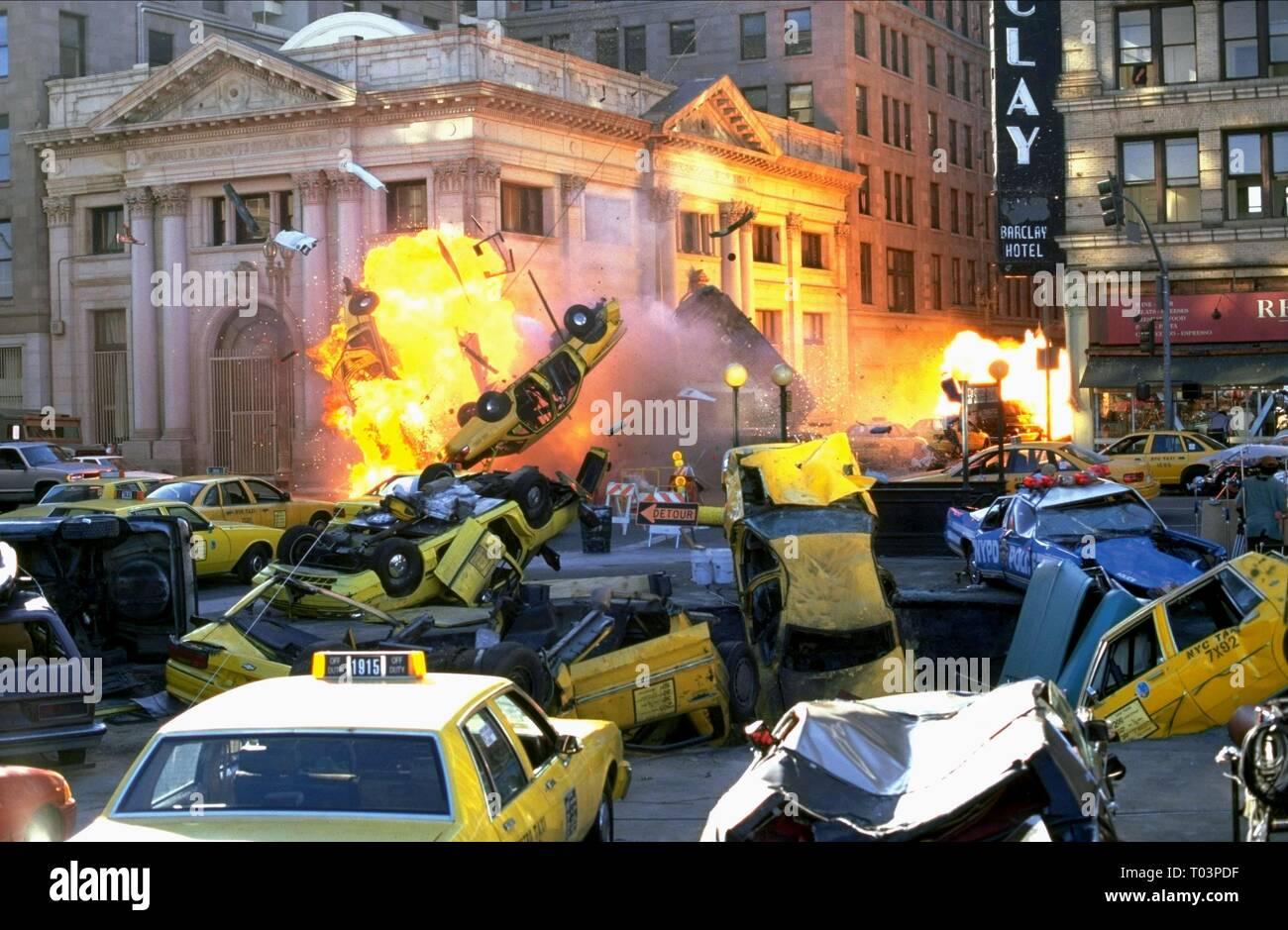 ARMAGEDDON, EXPLOSION SCENE, 1998 - Stock Image