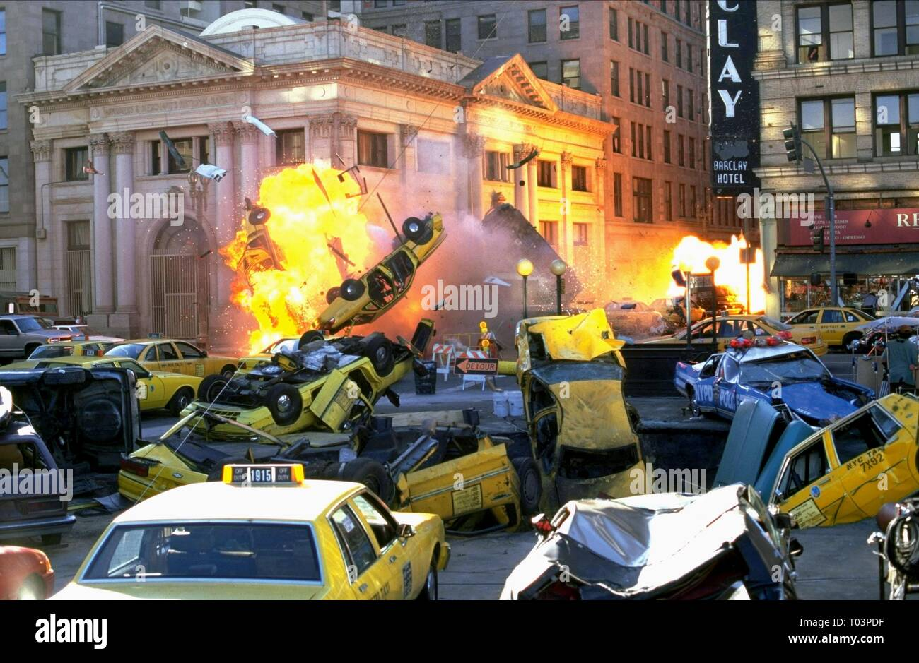 Explosion Scene Armageddon 1998 Stock Photo Alamy