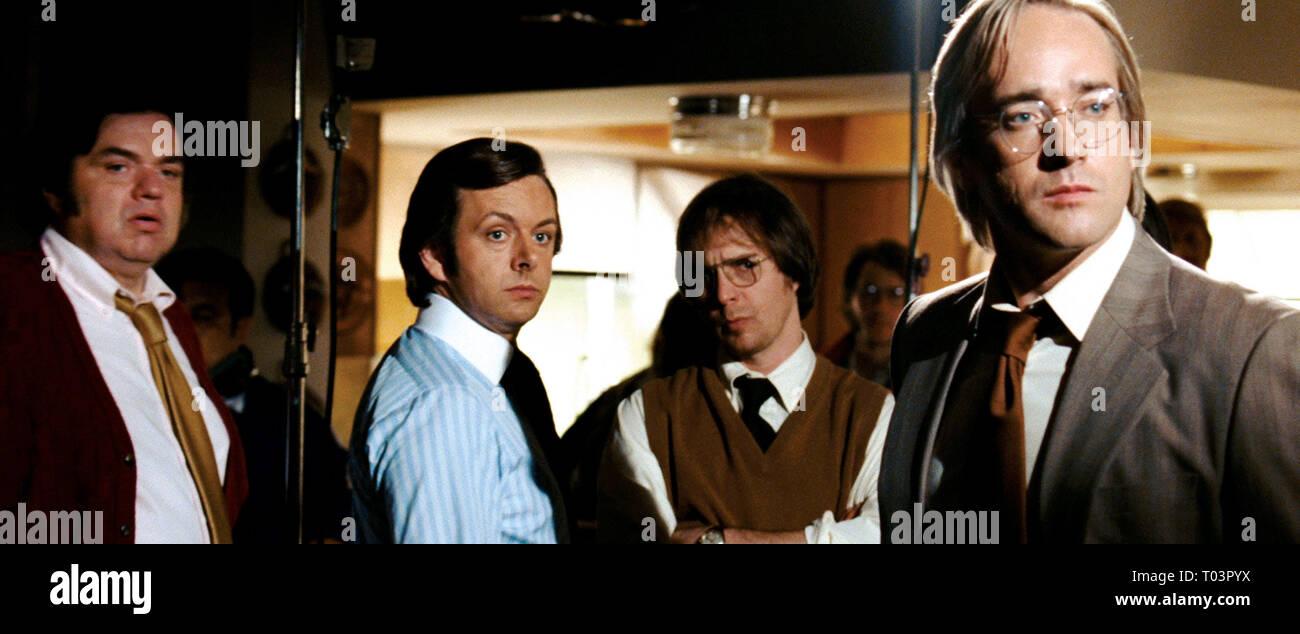 FROST/NIXON, OLIVER PLATT, MICHAEL SHEEN, SAM ROCKWELL , MATTHEW MACFADYEN, 2008 - Stock Image