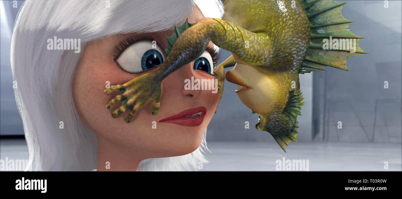 GINORMICA, THE MISSING LINK, MONSTERS VS. ALIENS, 2009 - Stock Image