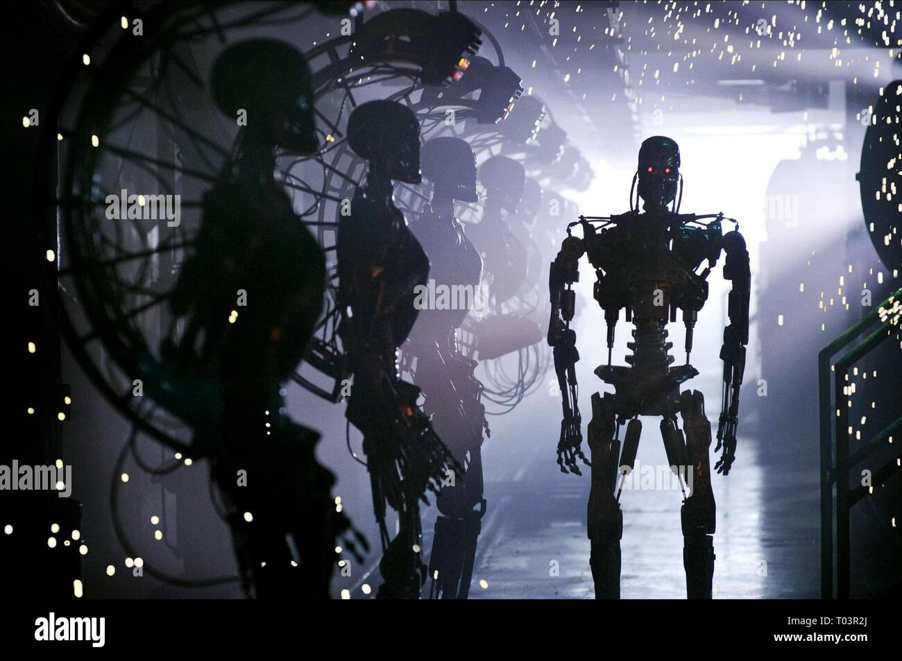 TERMINATOR SALVATION, T-800 TERMINATOR, 2009 - Stock Image