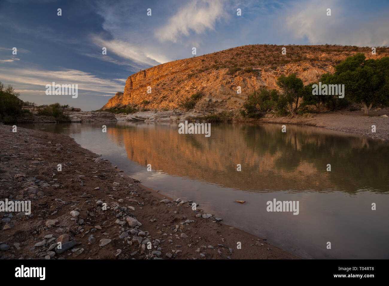 Terlingua, Brewster County, Texas, USA - Stock Image
