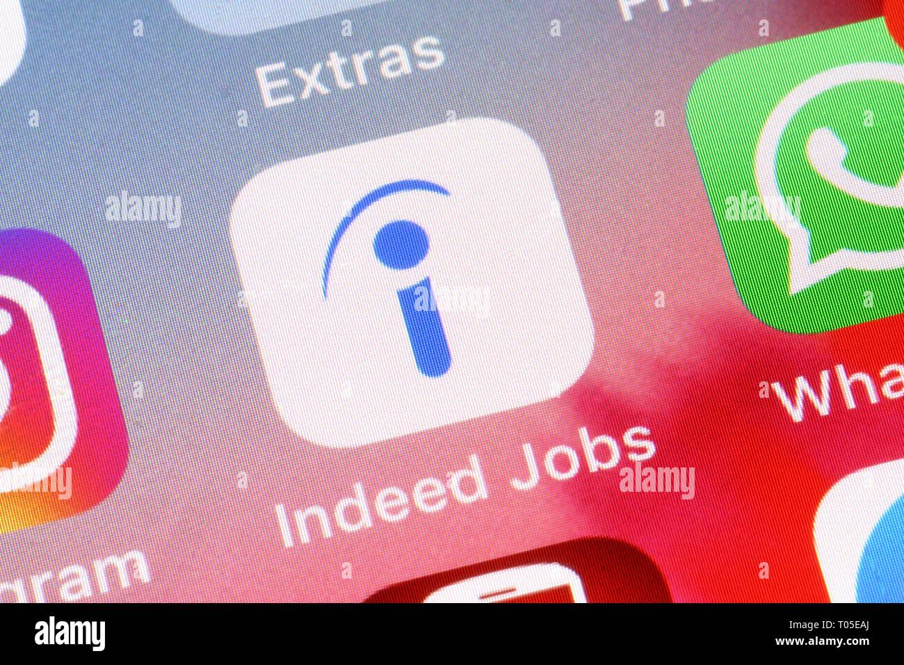Indeed Jobs Logo Stock Photos & Indeed Jobs Logo Stock Images - Alamy